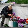 Flower Vendor in Tbilisi