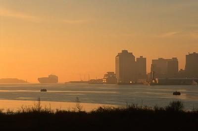 Ship Halifax Sunrise