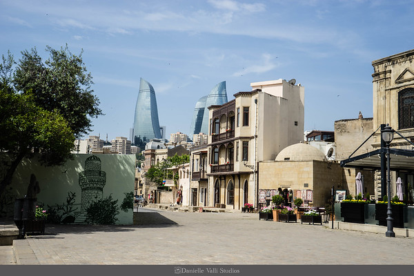 New and Old in Baku