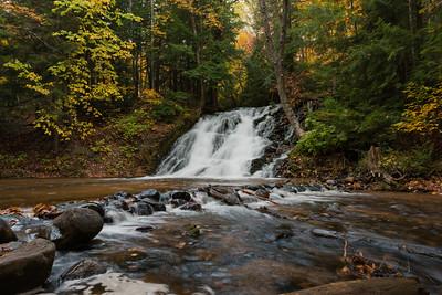 Fall At Morgan Falls