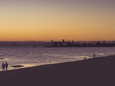 Robert W. Crown Memorial State Beach, Alameda, CA, Super Blood Moon, San Francisco Bay Area