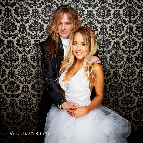 The Sebastian Bach & Suzanne Le Rock N Roll Wedding Extravaganz