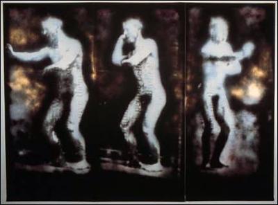 "prophet, 84"" x 120"" photo mural w/ acrylic"