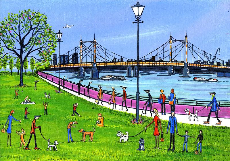 The Albert Bridge Battersea