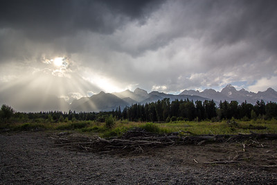 Rays Before the Storm