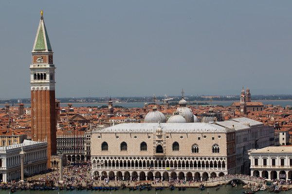 St Mark's basilica and the Campanile.