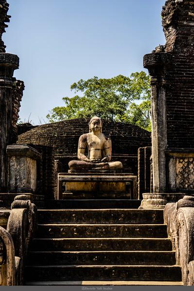 Buddha Statue at Polonnaruwa