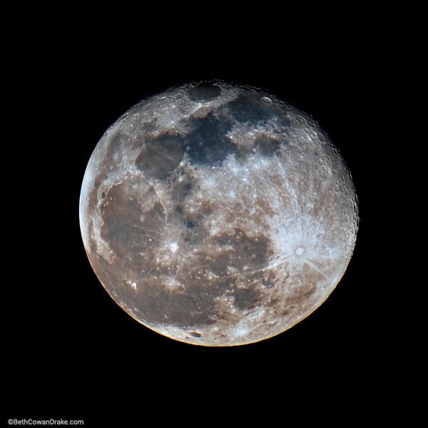 Mineral Moon as seen from Huntsville