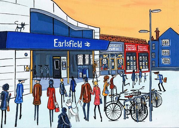 Earlsfield Station