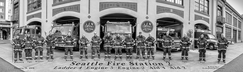 Fire Station 2, A-Shift Panoramic