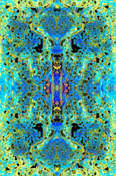 Serenity (Apres Klimt) : Symmetry Series #42