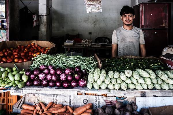 Vegetables vendor