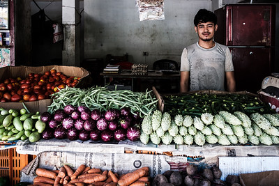 Vegetables vendor