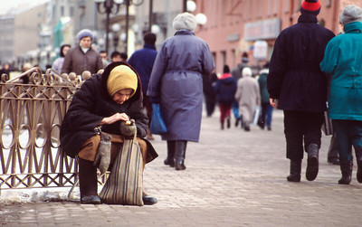 Moscow poverty