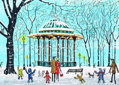 Clapham bandstand
