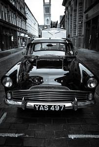 Zodiac car at Candleriggs, Glasgow