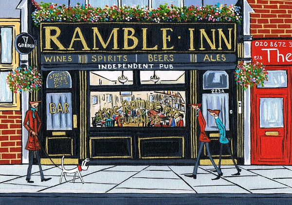 The Ramble inn pub,Tooting