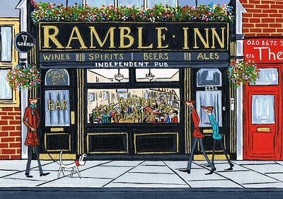 The Ramble inn pub,Tooting