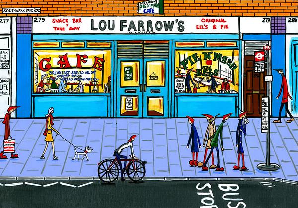 Lou Farrows pie and mash
