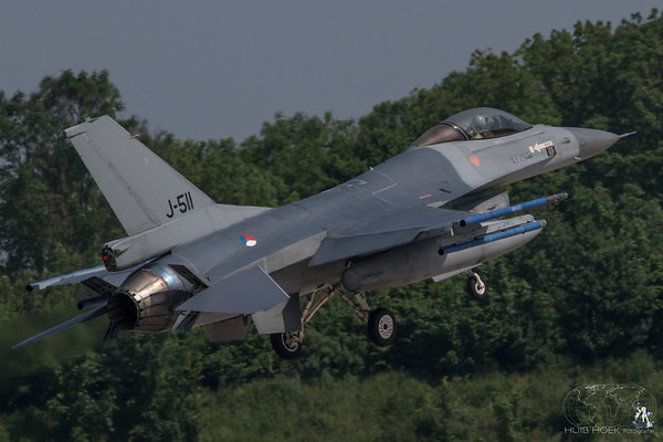 F-16AM Fighting Falcon - Serial: J-511 - Operated by Royal Netherlands Air Force