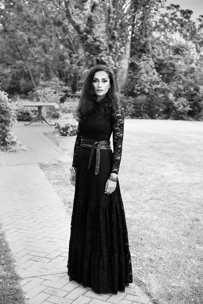 """A fashion portrait of Fatima Razic at Reed Homestead in Livonia, NY. Clothing provided by Viaggio Boutique. Hair styled by Tiffanie at Salon Bella Vita. Makeup by Rosalind Matthew, owner, Beauty for Ashes. Photo ©Brandon Vick Photography <a href=""""https://www.brandonvickphotography.com/"""">https://www.brandonvickphotography.com/</a>"""