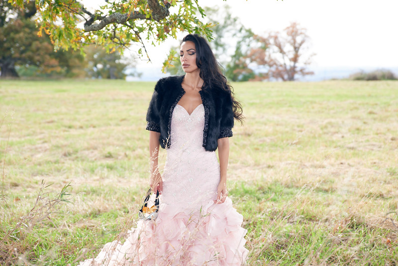"""Maja wears a bridal gown provided by The Wedding Dress in Geneseo, NY. Photo by Brandon Vick, <a href=""""http://www.brandonvickphotography.com/"""">http://www.brandonvickphotography.com/</a>"""