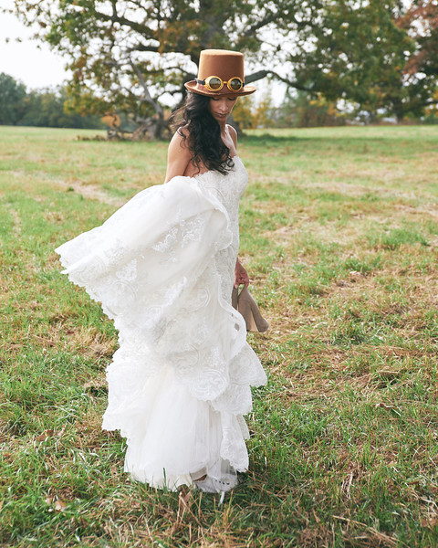 """Maja wears the latest in bridal fashion from The Wedding Dress in Geneseo, NY. Photo by Brandon Vick, <a href=""""http://www.brandonvickphotography.com/"""">http://www.brandonvickphotography.com/</a>"""