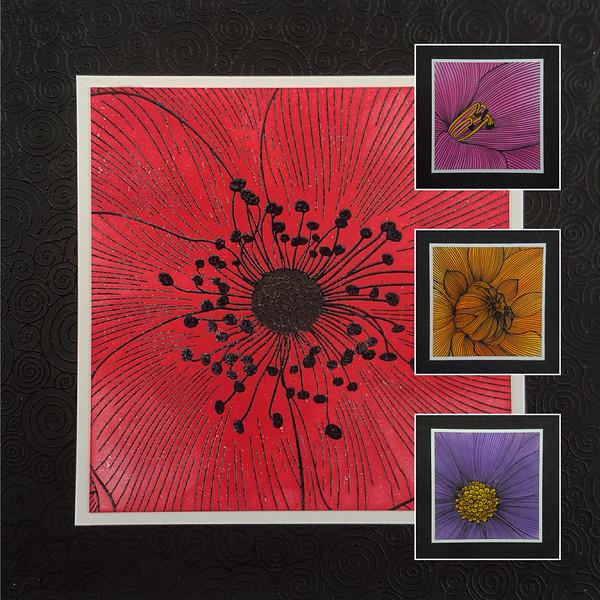 Colour Me Anenome Daisy Dhalia Lily 12-05-21