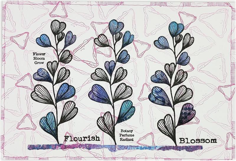 Asia Marquet - Sample 16 FLOURISH BLK & PASTELS 11-05-21