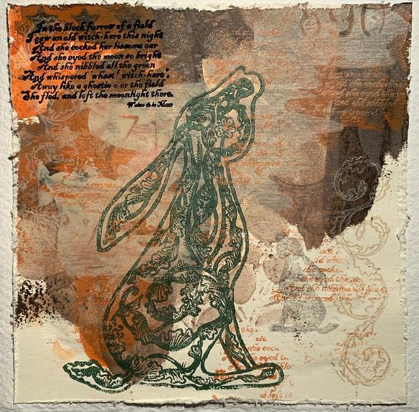 Stargazer Rabbit  Parchment