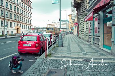 Photographying in Prague