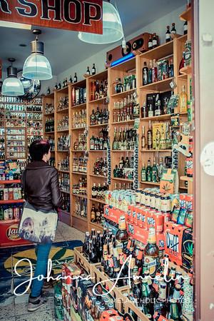 Absinthe shop in Prague