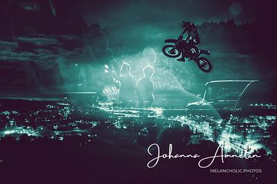 Jump over the city skyline