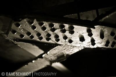 Winooski River Bridge, built in 1929.  April, 2010  20100403_morning-6990