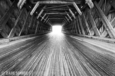 Occasionally I get time to wander.  On a drive north through central Vermont I was exploring some back roads on a rainy day when I came across this covered bridge in Gorham, Vermont.  I used a tripod to get max depth of field to get the details in this beautiful bridge to come to life.  Gorham, Vermont.  August 22, 2010