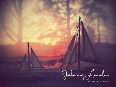 Sunrise sailboats