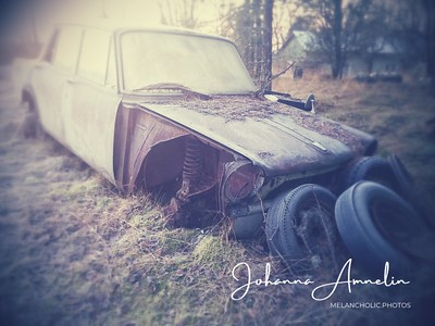 Abandoned Simca in December