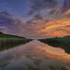 Long Pond Sunset, Nantucket MA