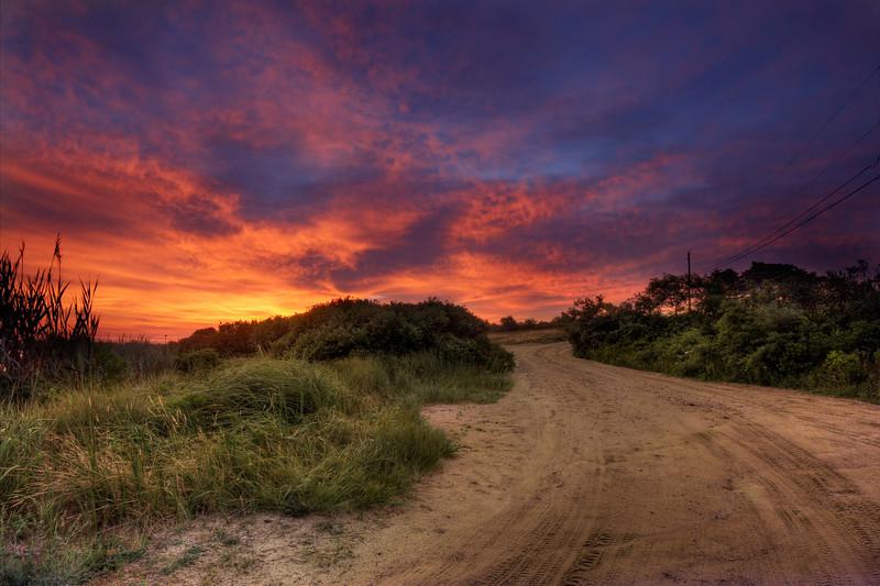 Sunrise, Massasoit Bridge Road, Nantucket MA
