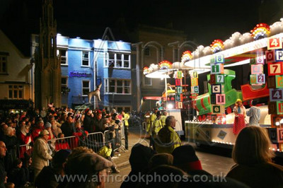 Float and Crowds in Glastonbury