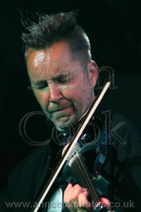 Nigel Kennedy playing jazz