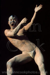 Butoh dancer