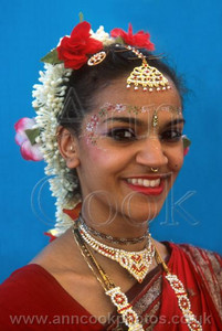 Hare Krishna dancer