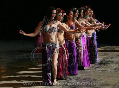 Eastern dancers line-up