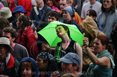 Happiness is a Green Umbrella