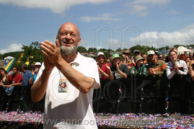 Michael Eavis at Glastonbury Festival