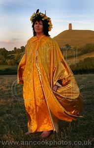 Priestess On Chalice Hill