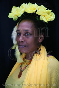 The Yellow Rose Headress