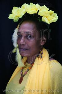 The Yellow Rose Headress