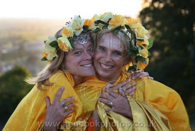 Two Priestesses celebrate